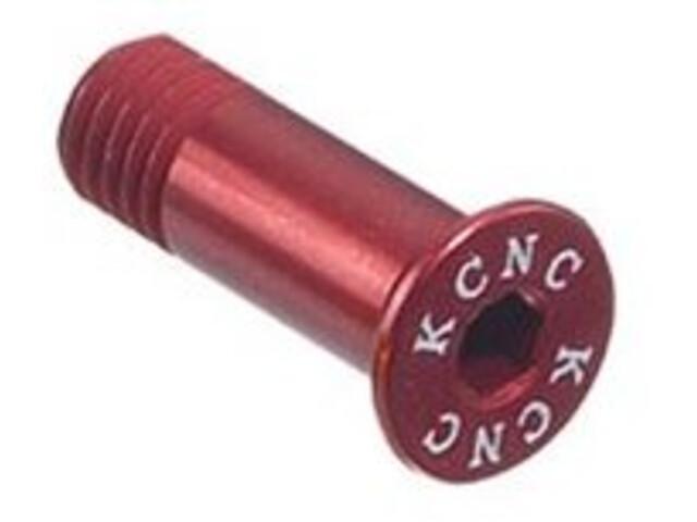 KCNC Jockey Wheel Bolts L14mm red